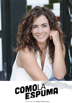 María Cotiello en Como La Espuma